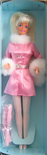General Mills Barbie Winter Dazzle Barbie Doll (1997 - 1