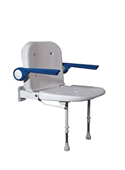 NRS Advanced Wall Mounted Shower Seat from Nottingham Rehab Supplies (NRS)