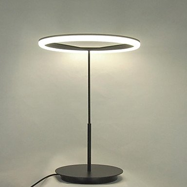 Modern Simple Design Mini Table Lamp LED Ring with Protect Eyesight White