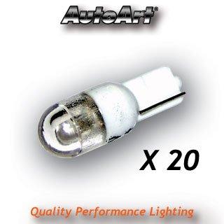 20 Pack White Output LED bulb for Angel Eyes - 12V