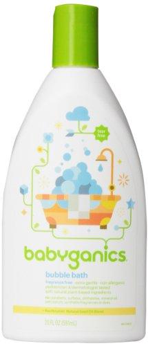 Babyganics Bubble Bath, Fragrance Free, 20oz,
