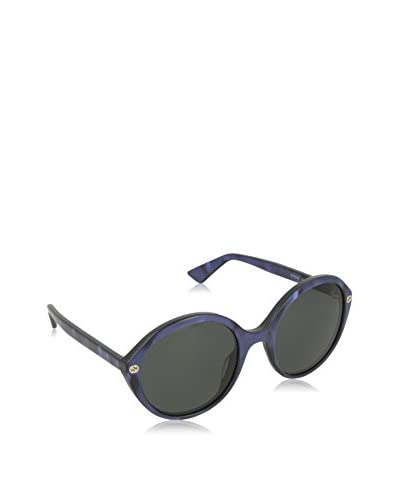 Gucci Sonnenbrille 0023S_004 (55 mm) blau