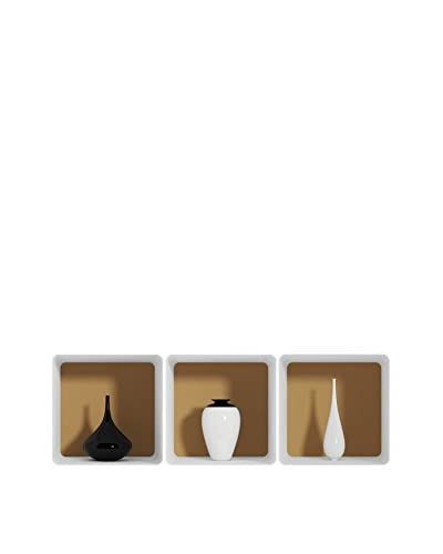 Ambiance-sticker Set Vinile Decorativo 3 Pz. Trendy Vases 3D Effect