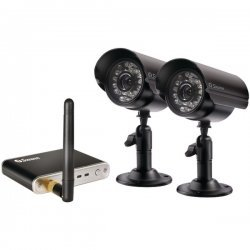 Digital Wireless Camera and Receiver (Set of 2)