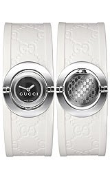 Gucci's Ladies' Twirl Collection watch #YA112520