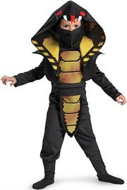 Cobra Ninja Child Costume Size 2T Toddler