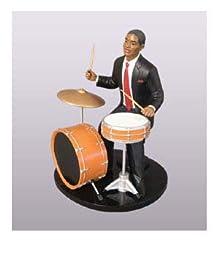 Jazz Drummer Figurine