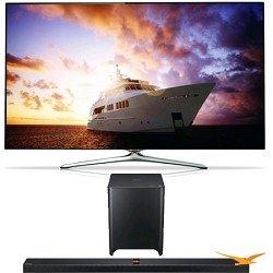 Samsung Un60F7500 60 Inch 1080P 240Hz 3D Smart Wifi Tv + Hw-F850 Soundbar Bundle