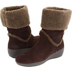 Easy Spirit Women's Evander Boot Shoes Dark Brown Size 8w