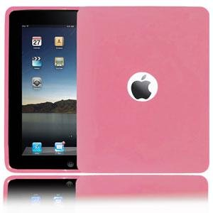 Amzer Soft Gel TPU Skin case for Apple iPad Tablet,(Baby Pink)