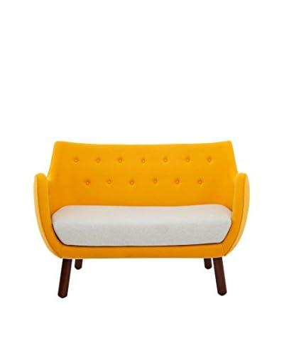 Kardiel 1946 Parlor Mid-Century Modern Sofa, Sunrise