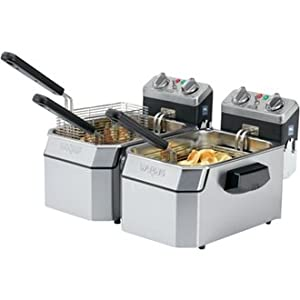 Waring Deep Fat Fryer 5l X 2 High Quality And Heavy Duty