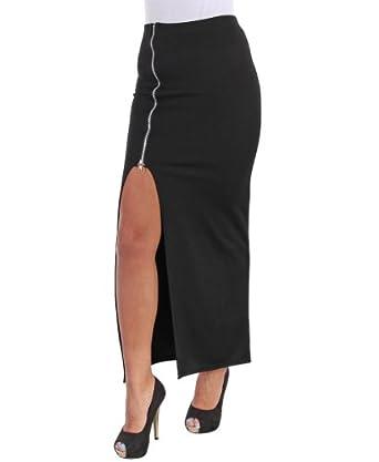 jupe longue fendue dekoration mode fashion. Black Bedroom Furniture Sets. Home Design Ideas