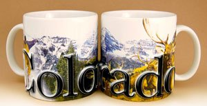 Colorado - One 18 Oz. Coffee Mug (Full Color)
