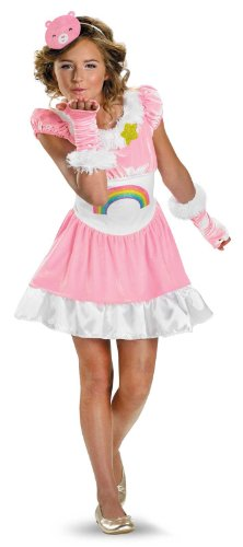 Disguise Care Bears Cheer Bear Child / Tween Costume Pink 41463