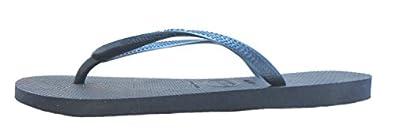 Size 4 Havaianas Women's H Slim Synthetic Flip Flops