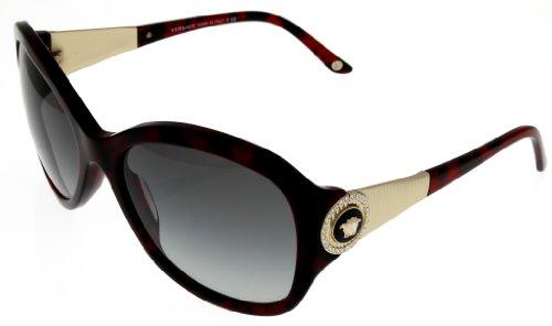 Versace Sunglasses Women Havana Ve4237B 989/11 Rectangular