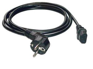 Bulk CABLE-706 C/âble dalimentation avec Fiche Coud/ée