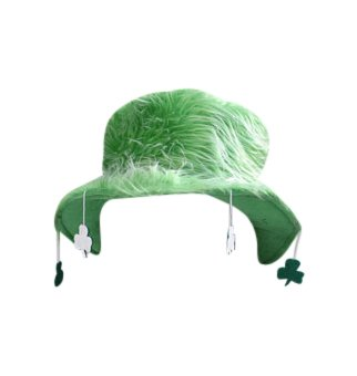 BZANY® Furry Green St. Patricks Day Bucket Hat