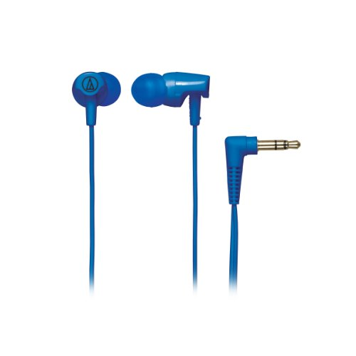 Audio Technica Athclr100Bl In-Ear Headphones, Blue