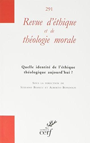 Revue d'Éthique et de Theologie Morale 291/Hs N 13