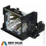Alda PQ projector lamp POA-LMP53 / 610 303 5826 / LV-LP16 for SANYO PLC-SE15 PLC-SL15 PLC-SU2000 PLC-SU25 PLC-SU40 PLC-XU36 PLC-XU40 / CANON LV-5200 / EIKI LC-SB10 LC-SB10D LC-XB10 LC-XB10D / BOXLIGHT CP-12TA Projectors, lamp with housing