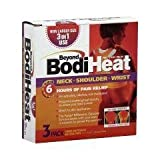 OKO76983 - Beyond BodiHeat Pain Relieving Neck/Shoulder/Wrist Heat Pad, 5 x 5-1/4