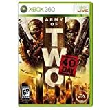 New Electronic Arts Sdvg Army Two 40th Day Product Type Xbox 360 Game Stylish Genre Video Shooter