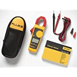 Fluke 325 40/400A AC/DC, 600V AC/DC TRMS Clamp Meter w/ Frequency, Temp, & Capacitance Measurements