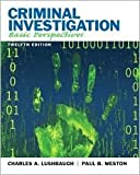 img - for Criminal Investigation 12th (twelve) edition Text Only book / textbook / text book