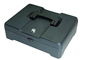 Helix High Capacity Cash Box 300mm Deep with Coin Tray 8-Part and Note Section CM8020