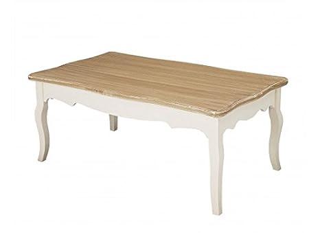 Tavolino da caffè, colore: panna