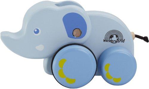 Wonderworld Baby Blue Elephant front-9101