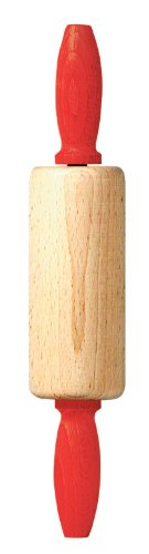 Linden Sweden Jonas of Sweden Kids Wood Rolling Pin, Red (Linden Wood compare prices)