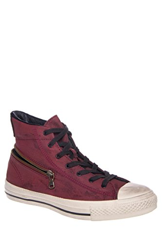 Men's Chuck Taylor All Star Painted Canvas Back Zip High Top Sneaker