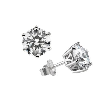 Carats Solitaire stud earrings