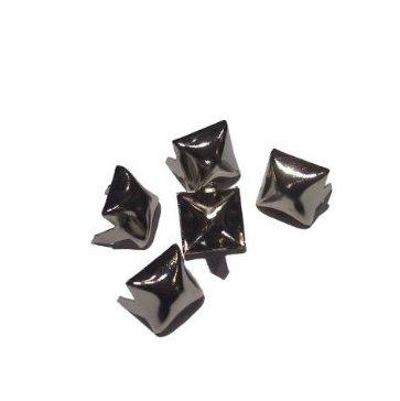 metallo Abbigliamento Studs, disponibile in vari stili e quantità Small Pyramid 50