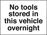 SIGN, NO TOOL IN VEHICLE,SAV