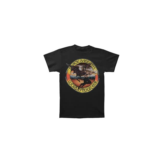 Rockabilia Black Sabbath World Tour 78 T shirt