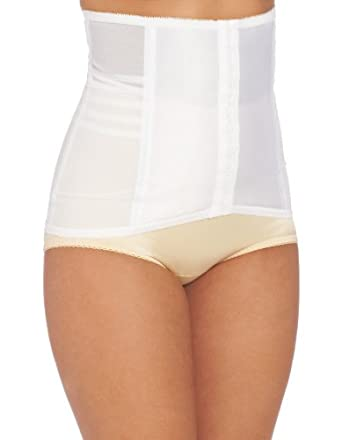 Rago Women's Waist Cincher, White, 32/X-Large