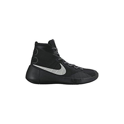 Men's Nike Hyperdunk 2015 Basketball Shoe Black/Metallic Silver Size 10 M US