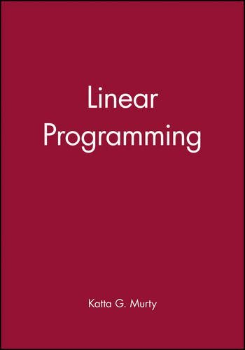Linear Programming by Katta G. Murty (1983-10-07) (Linear Programming Katta Murty compare prices)