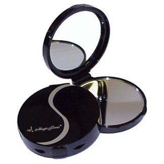 Big Eyes Magic Focus Black Compact 5X Magnifying Mirror