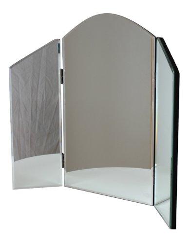 Clarissa Plain Venetian Triple Dressing Table Mirror