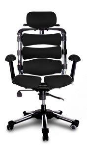 Hara Chair(ハラチェア)新型 パスカル(ブラック)オフィスチェア オフィスチェアー 高機能チェア 高機能チェアー 高機能 パソコンチェアー デスクチェアー リクライニング ハイバック メッシュ 腰痛 イス 椅子 事務用 回転 チェア (HARAチェアー ハラチェアー)