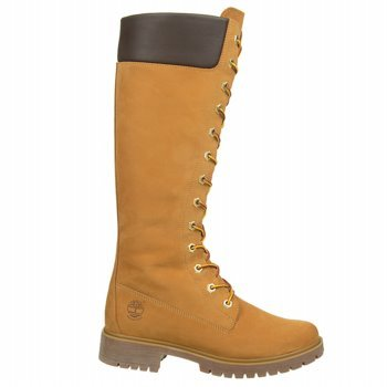 "Timberland Women'S Premium 14"" Waterproof Tall Boot Wheat 8.5 M Us"