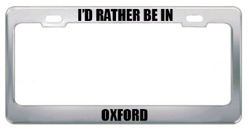 PENNSYLVANIA  I/'D RATHER BE IN License Plate Frame