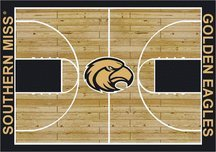 Milliken Southern Mississippi Golden Eagles 4 x 5 Southern Mississippi Golden Eagles Area Rug