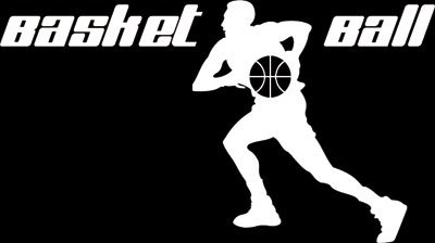 Wandtattoo für Jugendzimmer Sticker Sport Fitness Basketball mit Spieler (178x100cm//010 weiss)