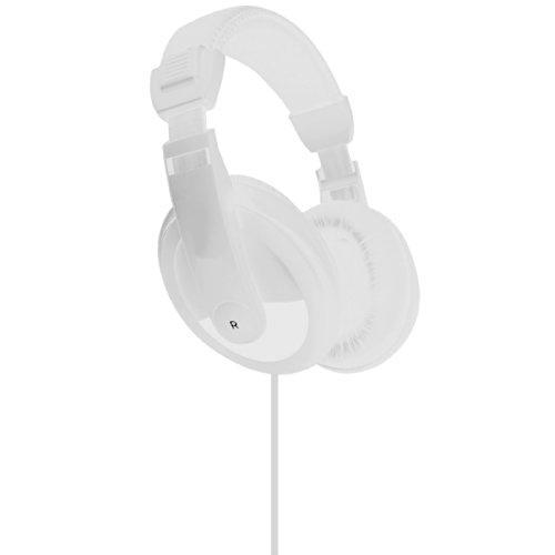 Vibe Sound Vs-750-Dj Noise Reduction Stereo Headphones (White)